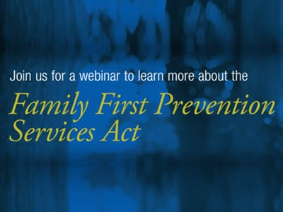 nfyi-fb - Family First Prevention Services Act - Join us for a webinar to learn more
