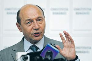 Траян Бэсеску советует Владимиру Путину «не играть в Молдове».Фото Reuters