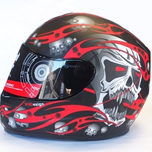 evo skull red