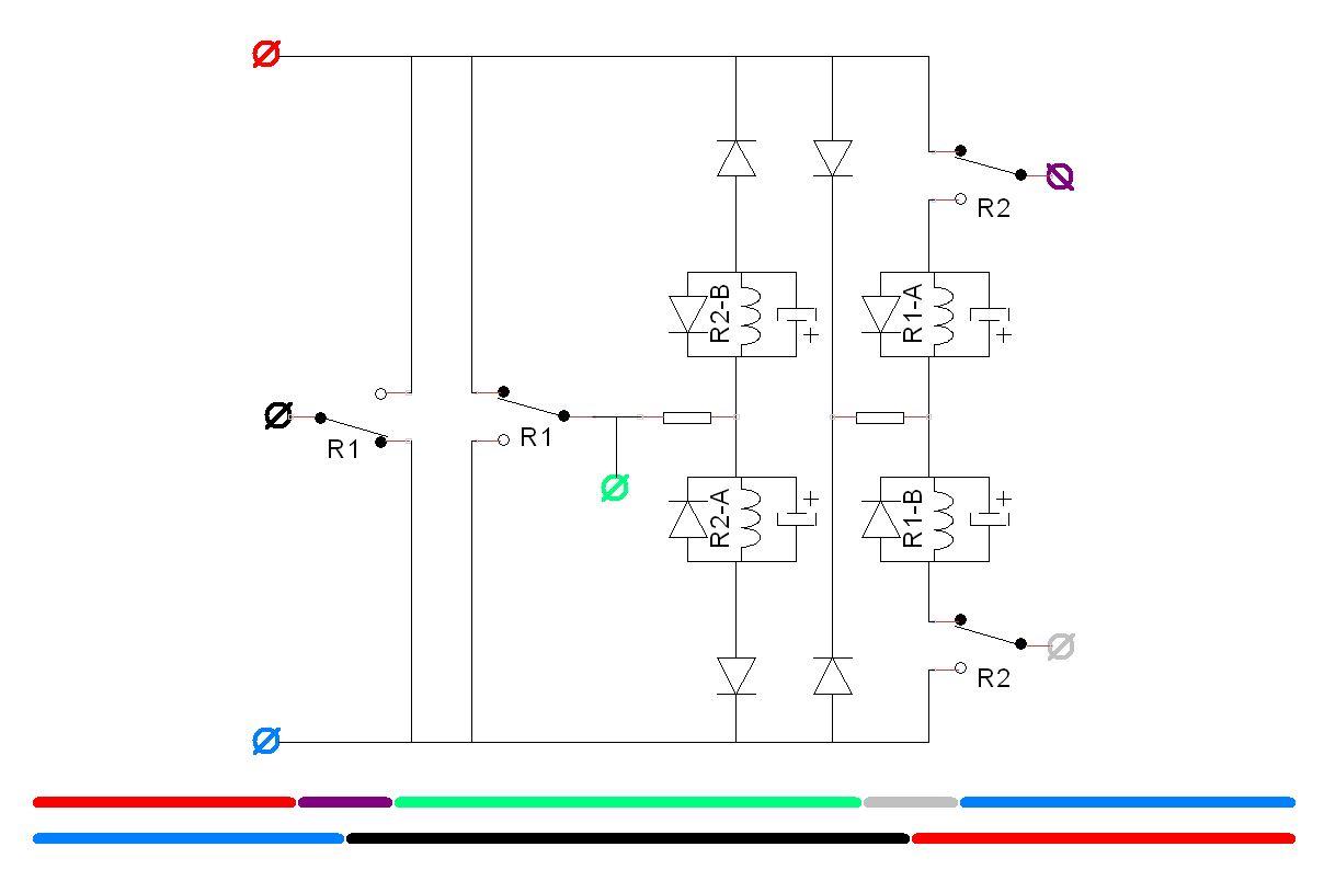 A Simple 2 Way Dcc Reversing Loop Module
