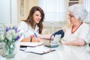 Scottsdale Senior Home Care - checking vital signs