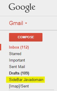 sidebar inbox example