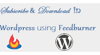 subscribe & download feedburner