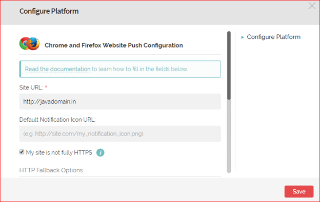 Onesignal push notification configuration in wordpress step by step
