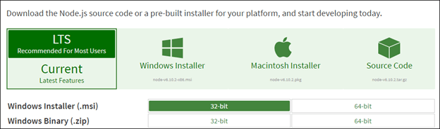 3 Simple Steps to install NodeJS in Windows 7