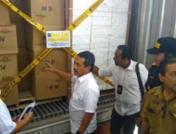 Wah, 9 Ton Jeruk Impor Ilegal dari China Ditemukan di Belawan