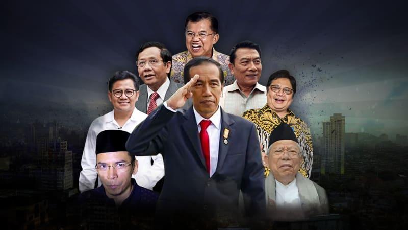 6 partai politik