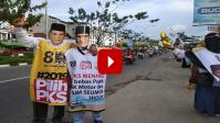 Flashmob PKS dilakukan orang bayaran