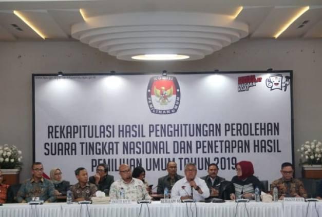 KPU Umumkan Hasil Pileg, PKS Masuk 6 Besar