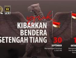 Kenang Korban PKI, PKS Kibarkan Bendera Setengah Tiang: Diperingati, Agar Tak Diulangi