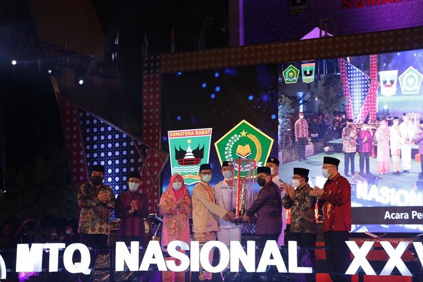 Sumbar Juara Umum MTQ Nasional