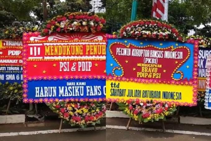 Harun Masiku Fans Club Sahabat Juliari Dukung PDIP dan PSI
