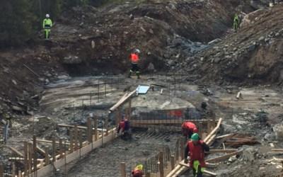 Kraftstasjon påbegynt på Fiskløysa