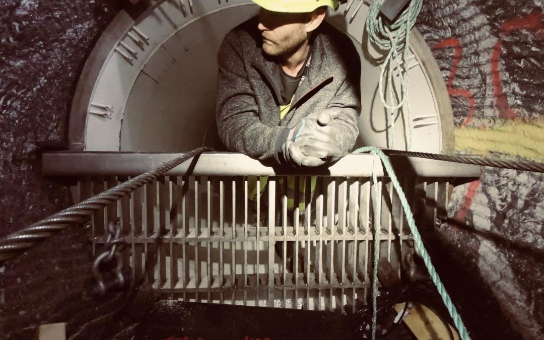 Tunnelarbeider Grytendal