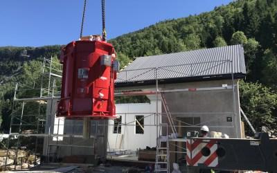 Åpning Sandneselva kraftverk
