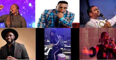 Top 20 Nigerian Gospel Artists of 2019 [Infographic]