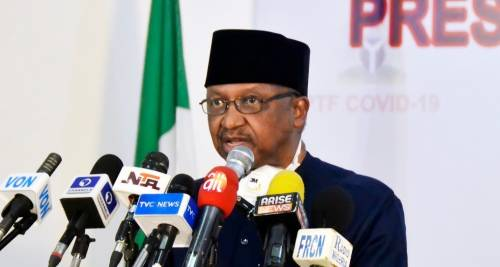 Minister of Health, Osagie Ehanire