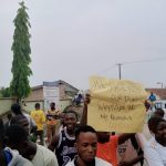 Ede Poly Students Protest