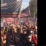 """Donald Trump Supporters Chanting """"We Are The Champions"""" As Joe Biden Wins Majority Vote (Video)"""