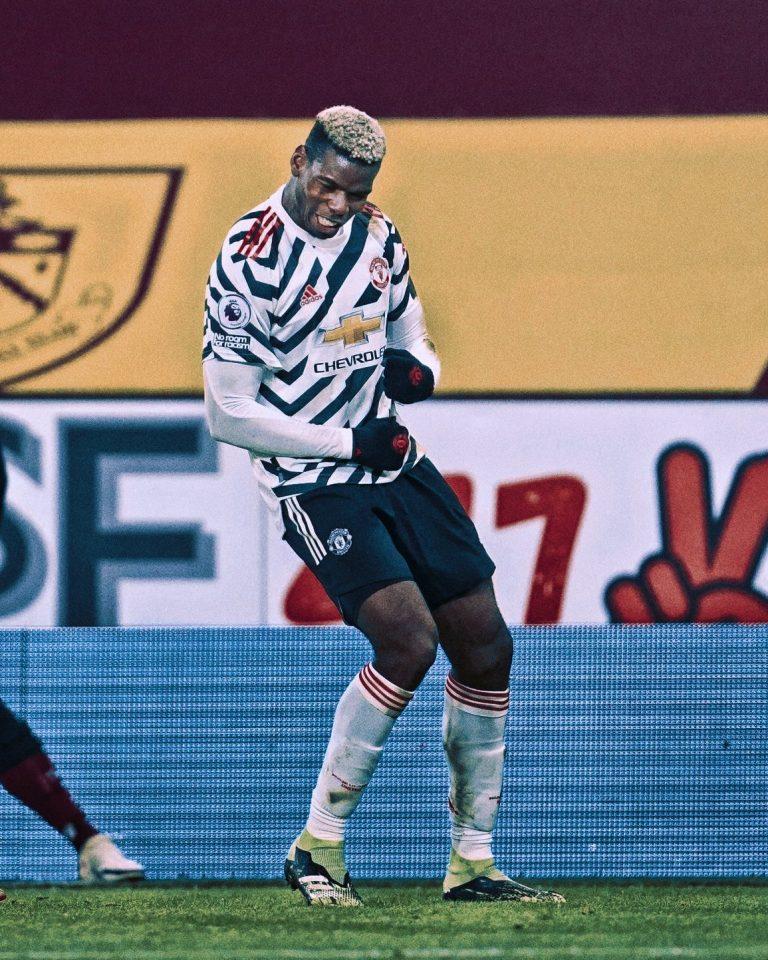Manchester United matchwinner Paul Pogba