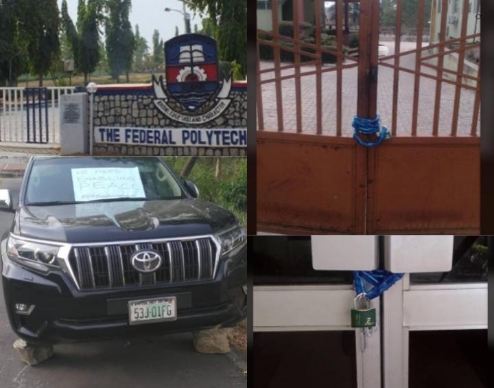 Federal Polytechnic Ede Asup, Rector Crisis