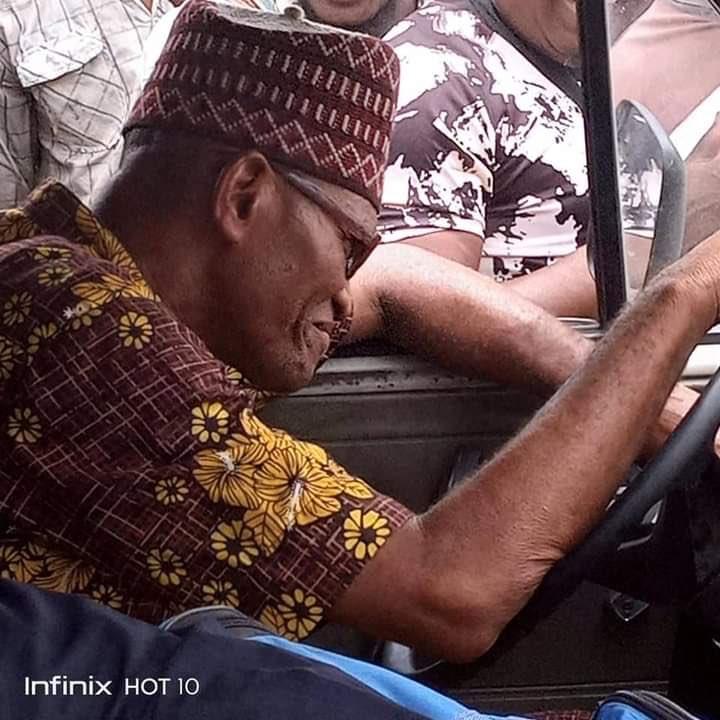 Buhari look alike spotted in Lagos