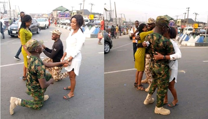 soldiers propose ft