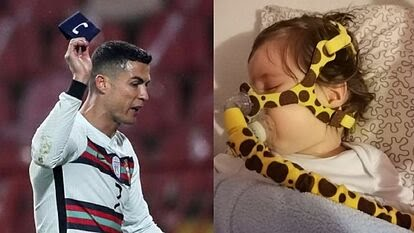 Ronaldos Captains Armband Raises At Charity Auction For Sick Child