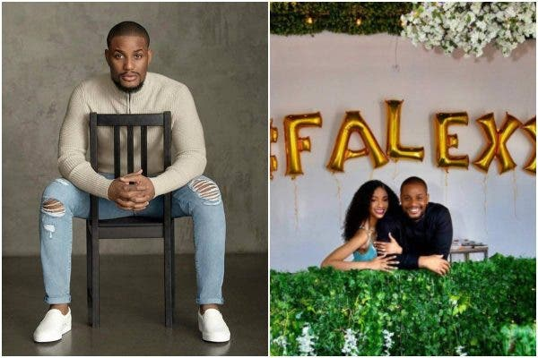 Alex Ekubo engaged Fancy Acholonu