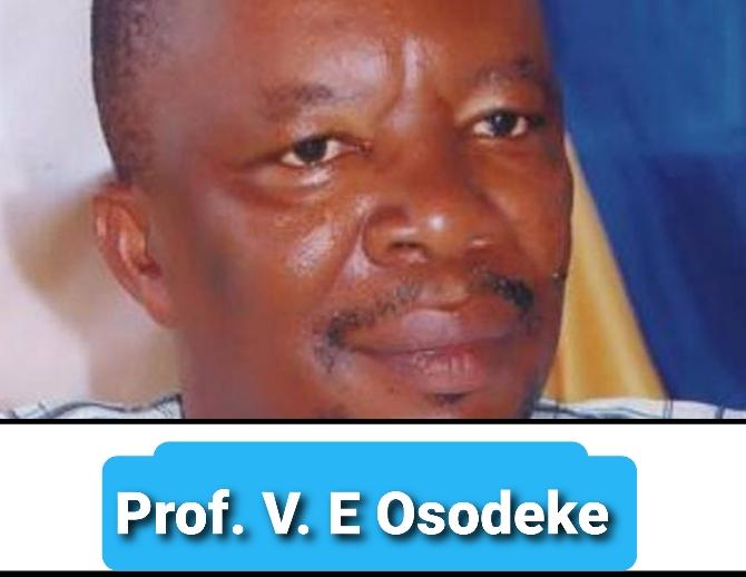 Prof Victor Emmanuel Osodeke Biography