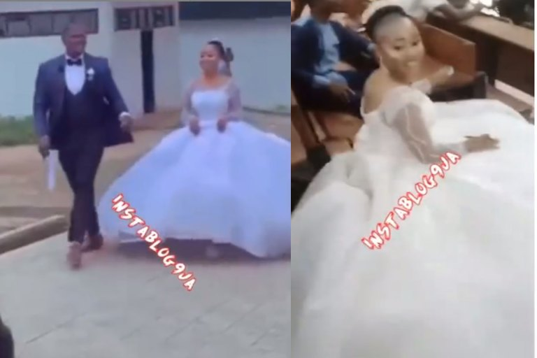 University of Abuja Student Storms Exam Hall In Her Wedding Dress