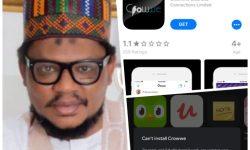 Crowwe App Garba Shehu