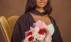 Iyabo Ojo Daughter graduate from Babcock Universit