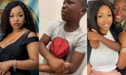 BBNaija Moment Jackie B Pranked Her Son With Fake Poop In The Toilet Video