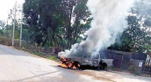 Burn Three Vehicles In Anambra