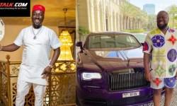 Obi Cubana and Hushpuppi who is richer