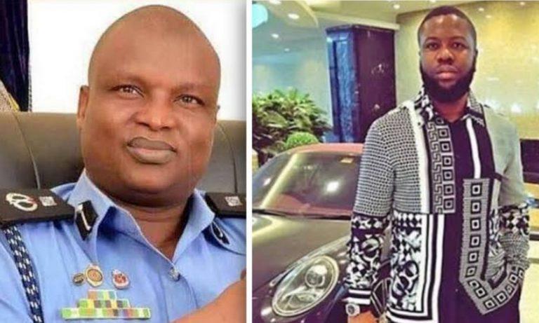 hushpuppi and abba kyari policeman