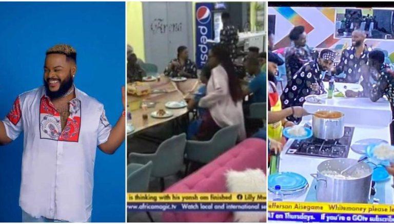 BBNaija Housemates waited till am to use VPN to eat WhiteMoneys food celebrate grace Viewers react