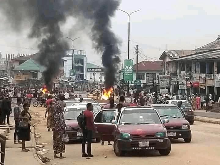 Mokola Ibadan Amoteun killing protest