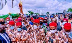 Buhari Imo State Visit