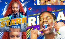 Rema and Ayra Starr Pepsi Ambassador