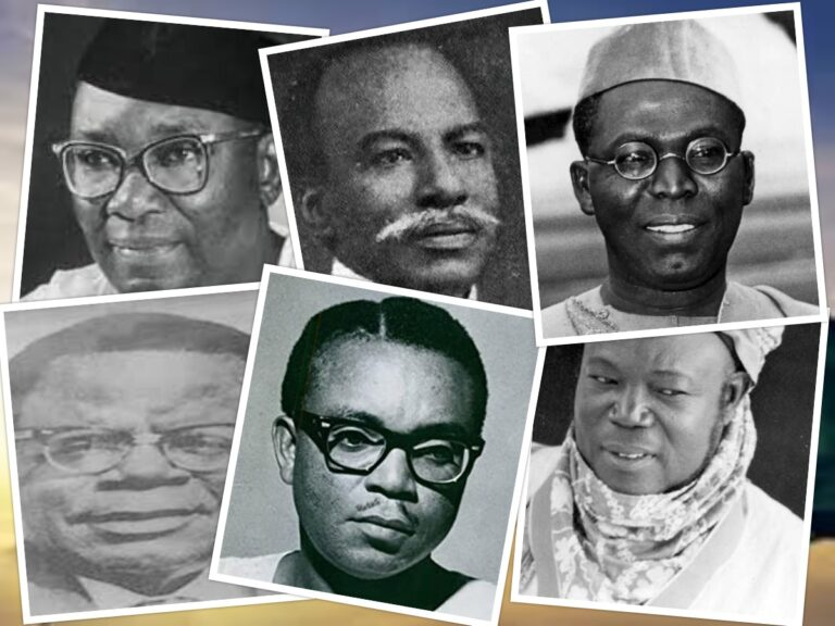 6 Leaders Responsible for Nigeria Independence