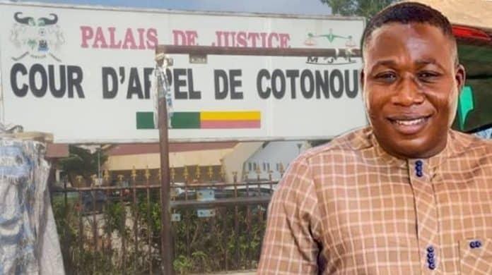 Beninese court Sunday Igboho Pictures