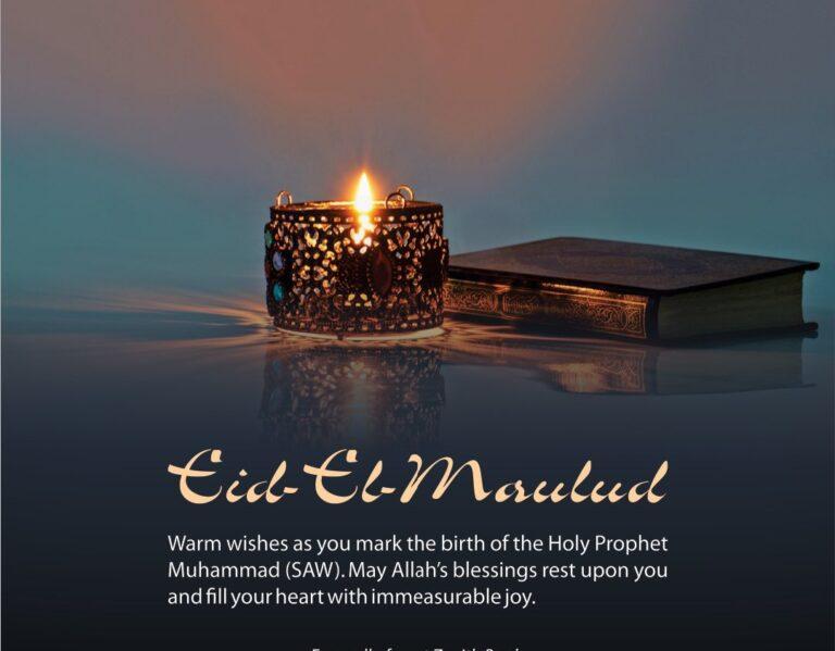 Eid el Maulud Message Quotes Celebration Greetings