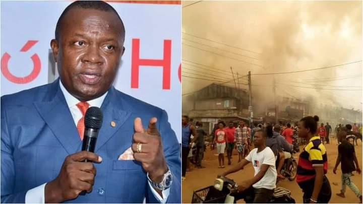 Iihiala Fire Outbreak
