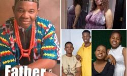 Meet Chiwetalu Agus Lovely Family 3 Sons And 2 Daughters Photos