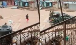 unknown gunmen pursued military officers in Enugu