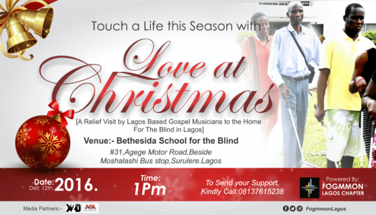 FOGMMON Lagos Chapter Celebrates Christmas With The Less Privileged