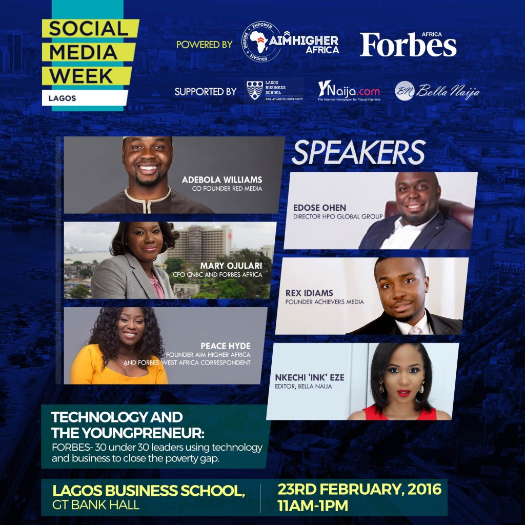 Social Media Week Lagos Or Agritech Youth Empowerment