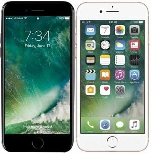 Compare Apple iPhone 7 32GB and 7 Plus 32GB